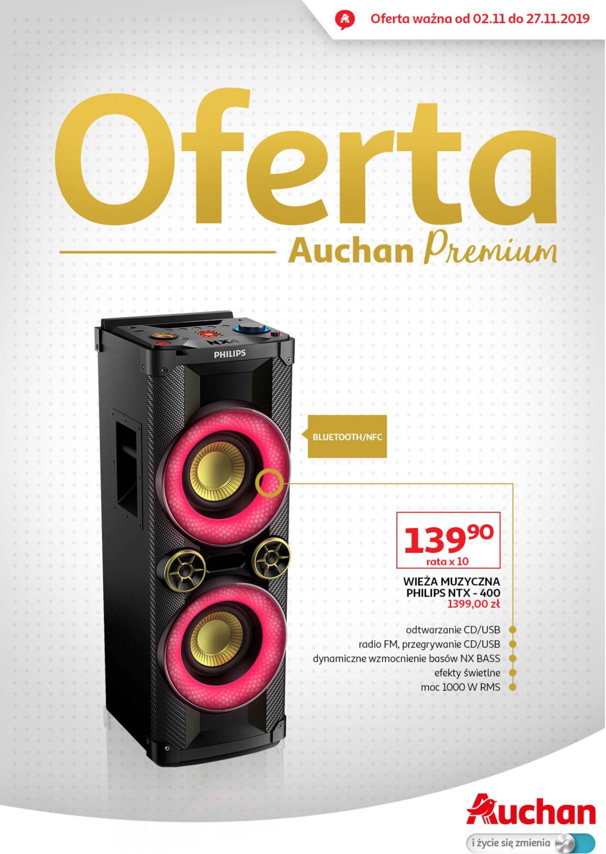Gazetka promocyjna Auchan - 02.11-27.11.2019