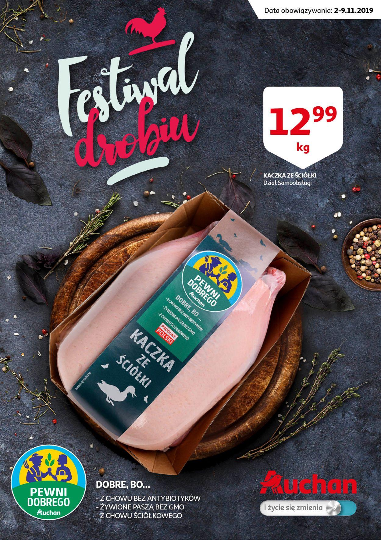 Gazetka promocyjna Auchan - 02.11-09.11.2019
