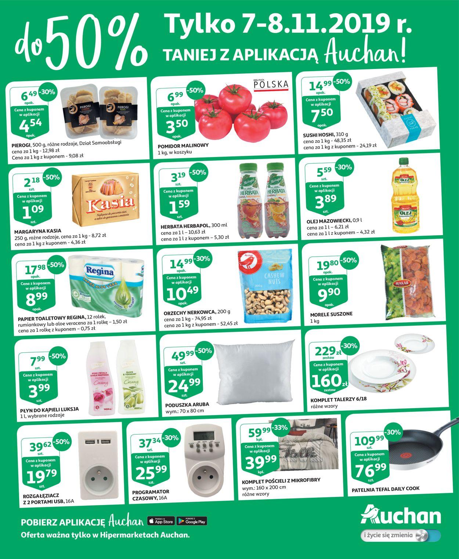 Gazetka promocyjna Auchan - 07.11-08.11.2019