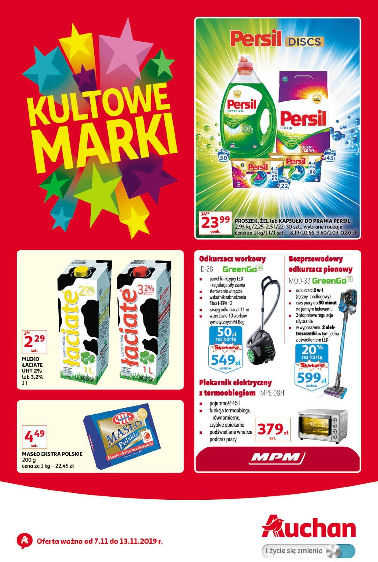 Gazetka promocyjna Auchan - 07.11-13.11.2019