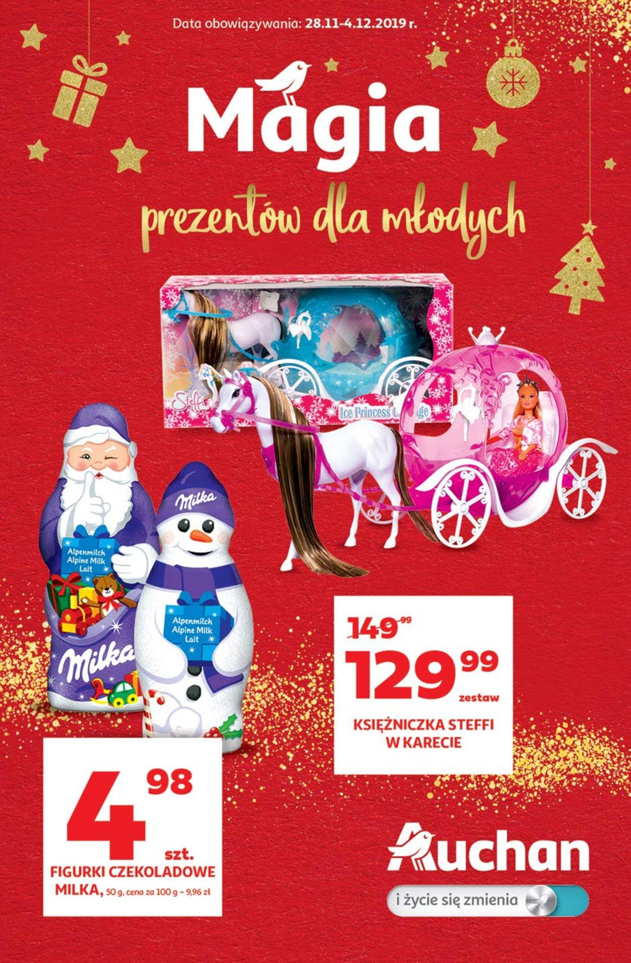 Gazetka promocyjna Auchan - Black Week 2019 - 28.11-04.12.2019