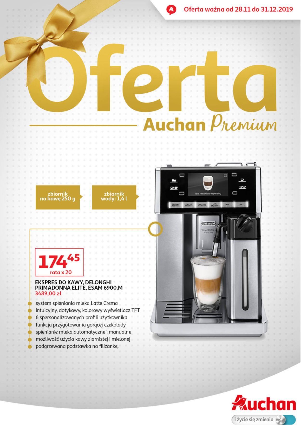Gazetka promocyjna Auchan - 28.11-31.12.2019