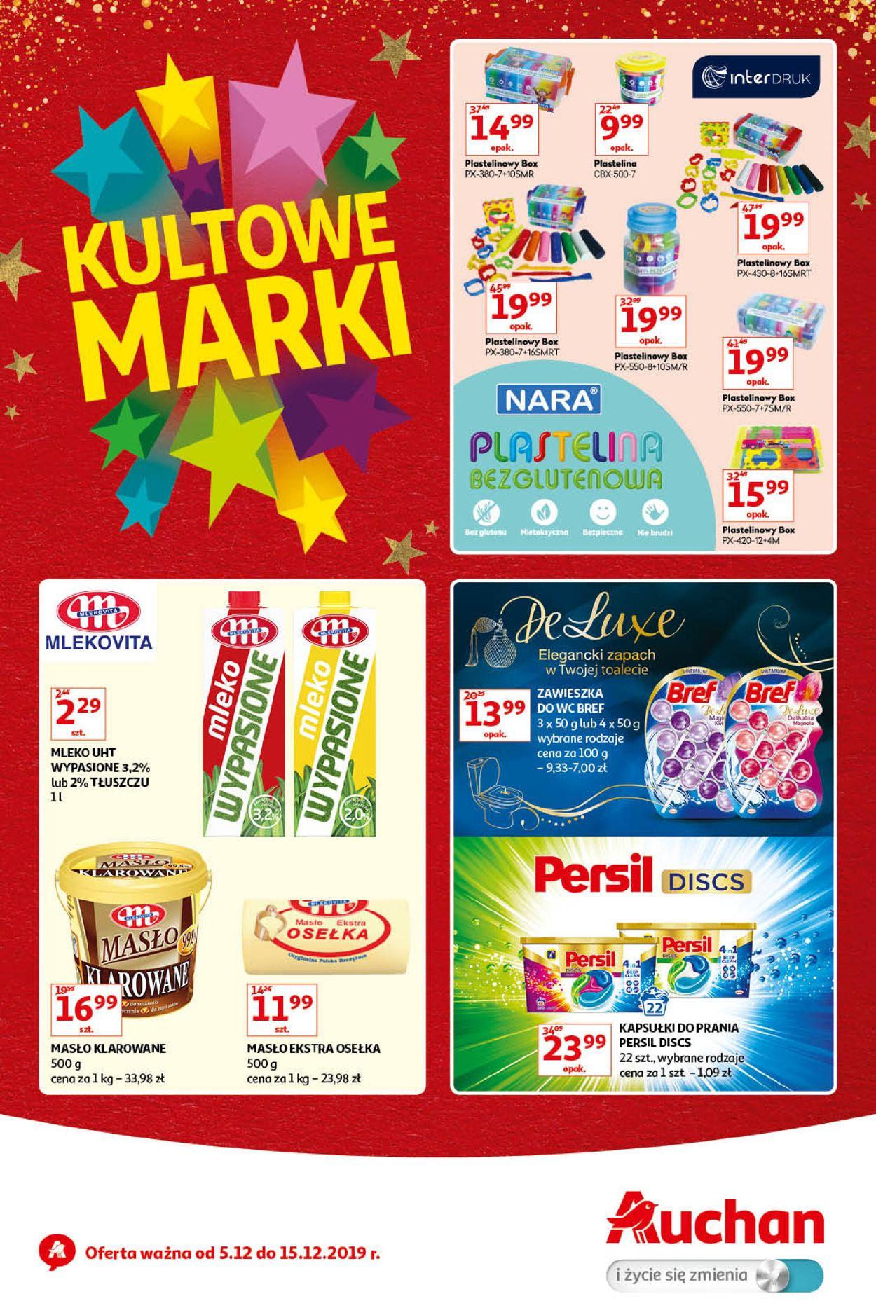 Gazetka promocyjna Auchan - 05.12-15.12.2019