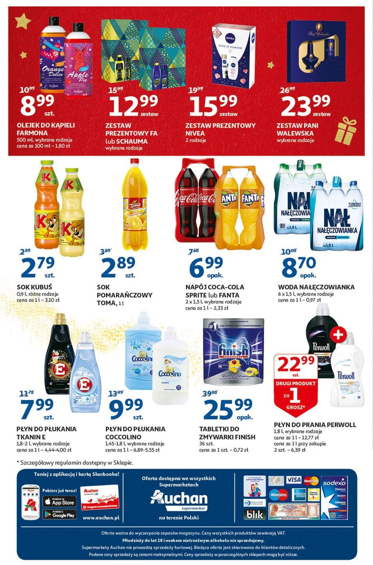 Gazetka promocyjna Auchan - Gazetka Świąteczna 2019 - 05.12-11.12.2019 (Strona 8)