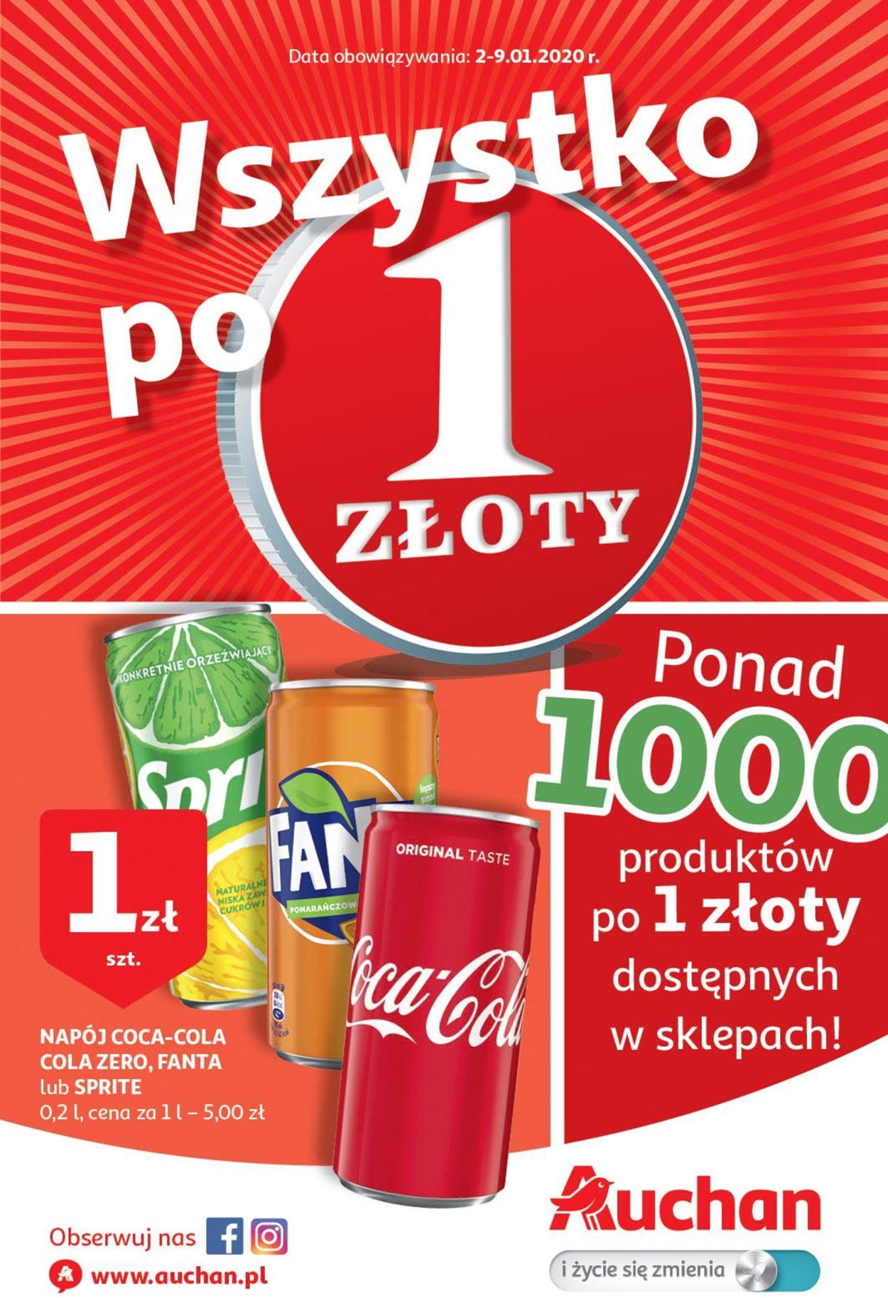 Gazetka promocyjna Auchan - 02.01-09.01.2020