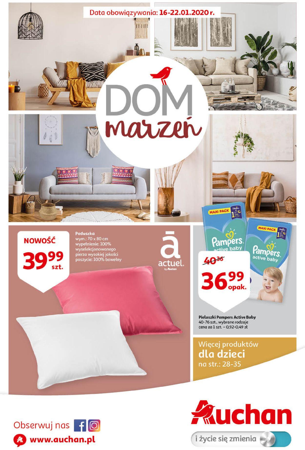 Gazetka promocyjna Auchan - 16.01-22.01.2020