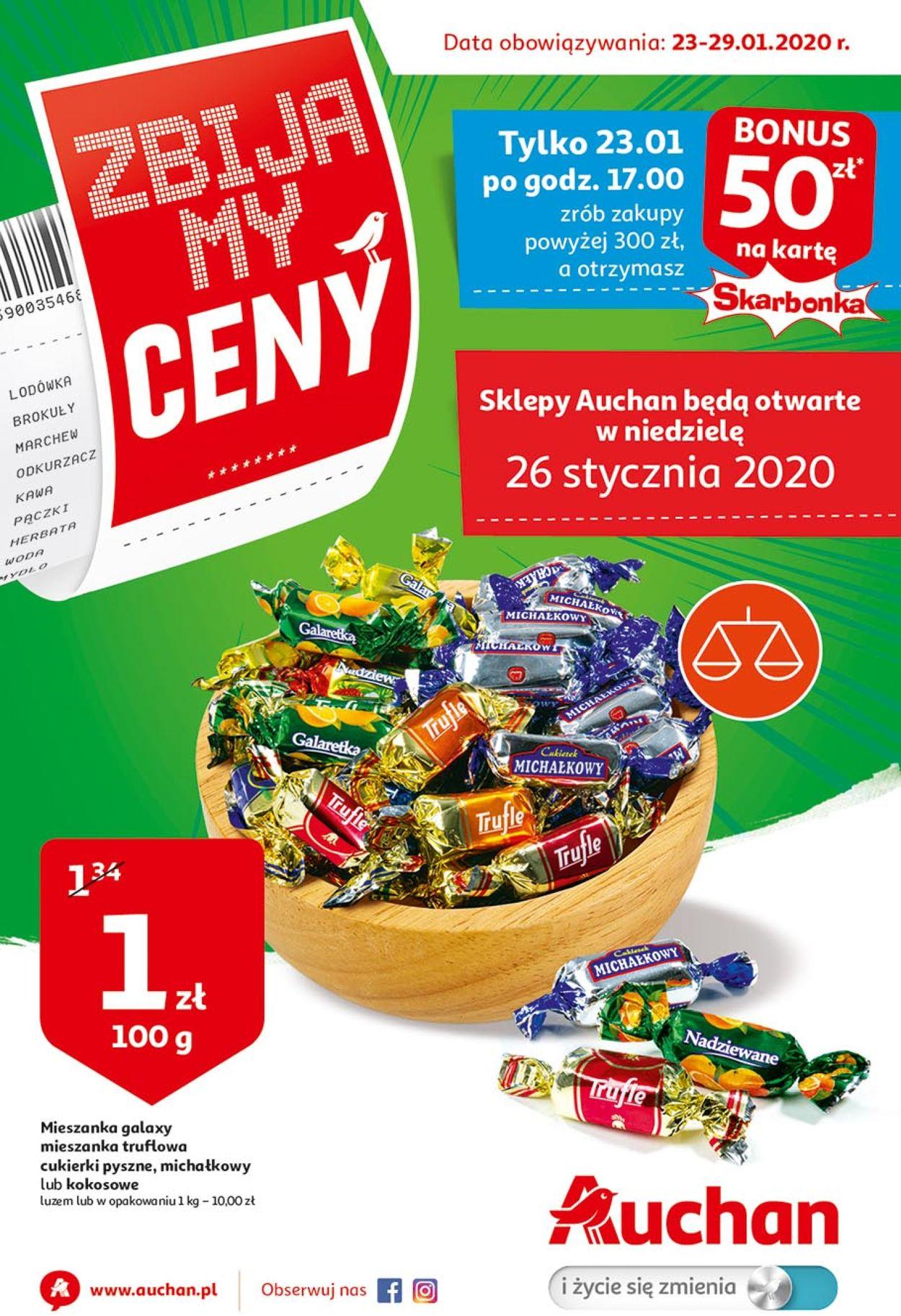 Gazetka promocyjna Auchan - 23.01-29.01.2020