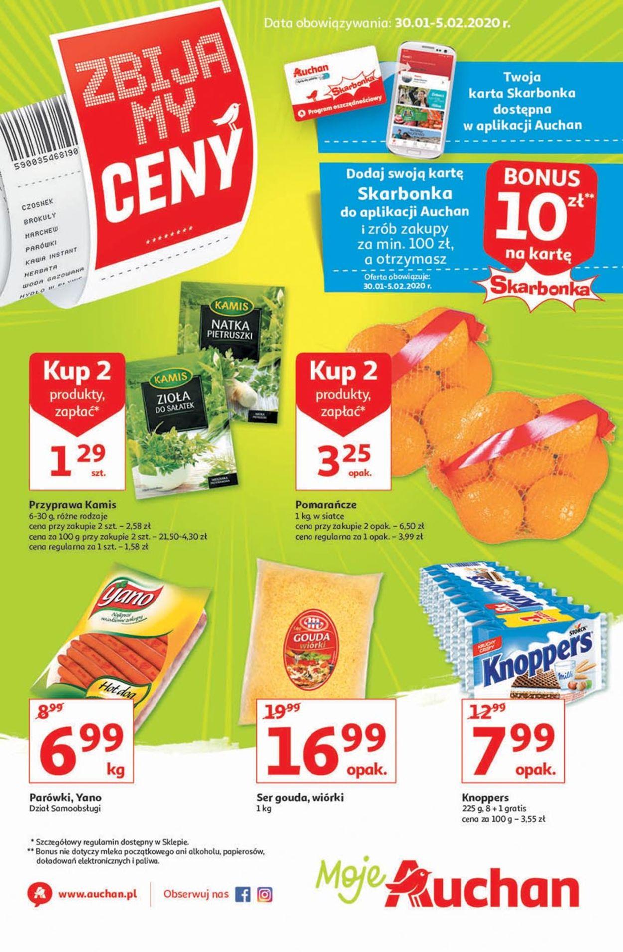 Gazetka promocyjna Auchan - 30.01-05.02.2020