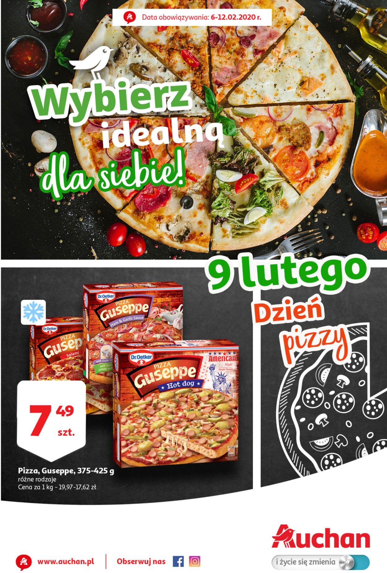 Gazetka promocyjna Auchan - 06.02-12.02.2020