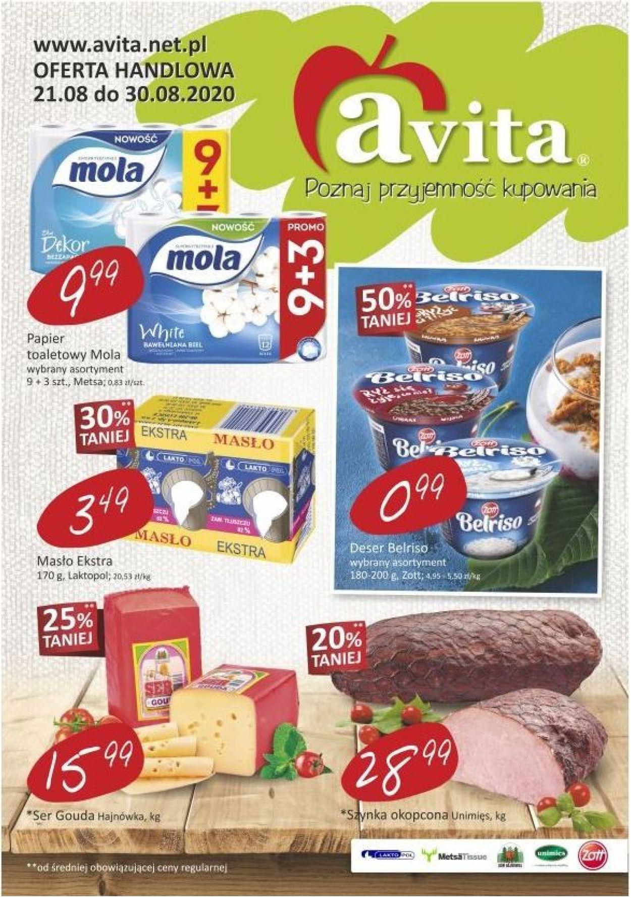 Gazetka promocyjna Avita - 21.08-30.08.2020
