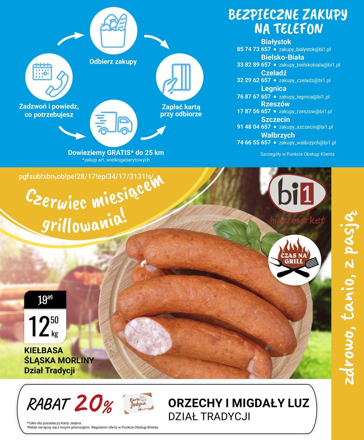 Gazetka promocyjna bi1 - 17.06-23.06.2020