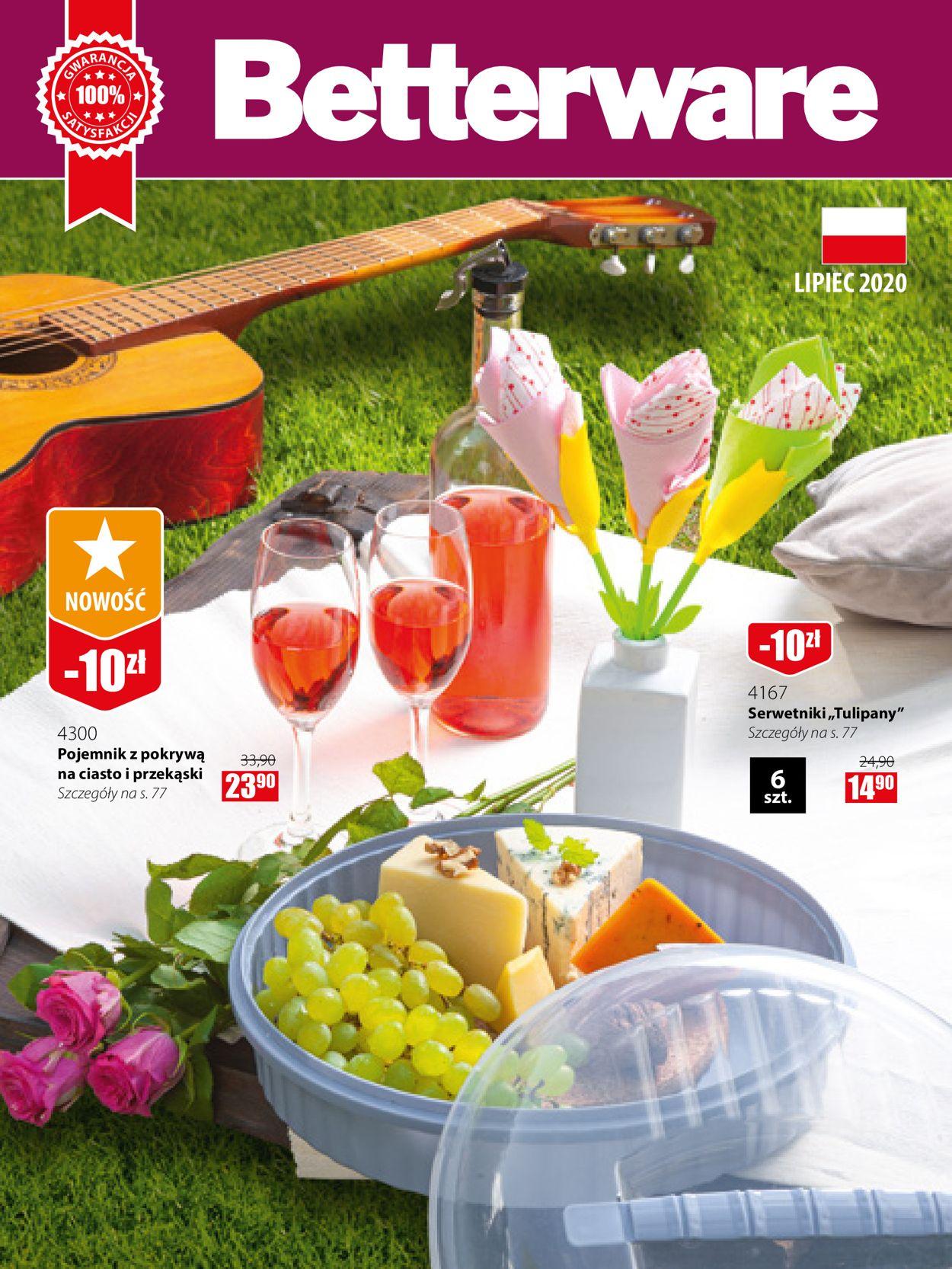 Gazetka promocyjna Betterware - 01.07-31.07.2020
