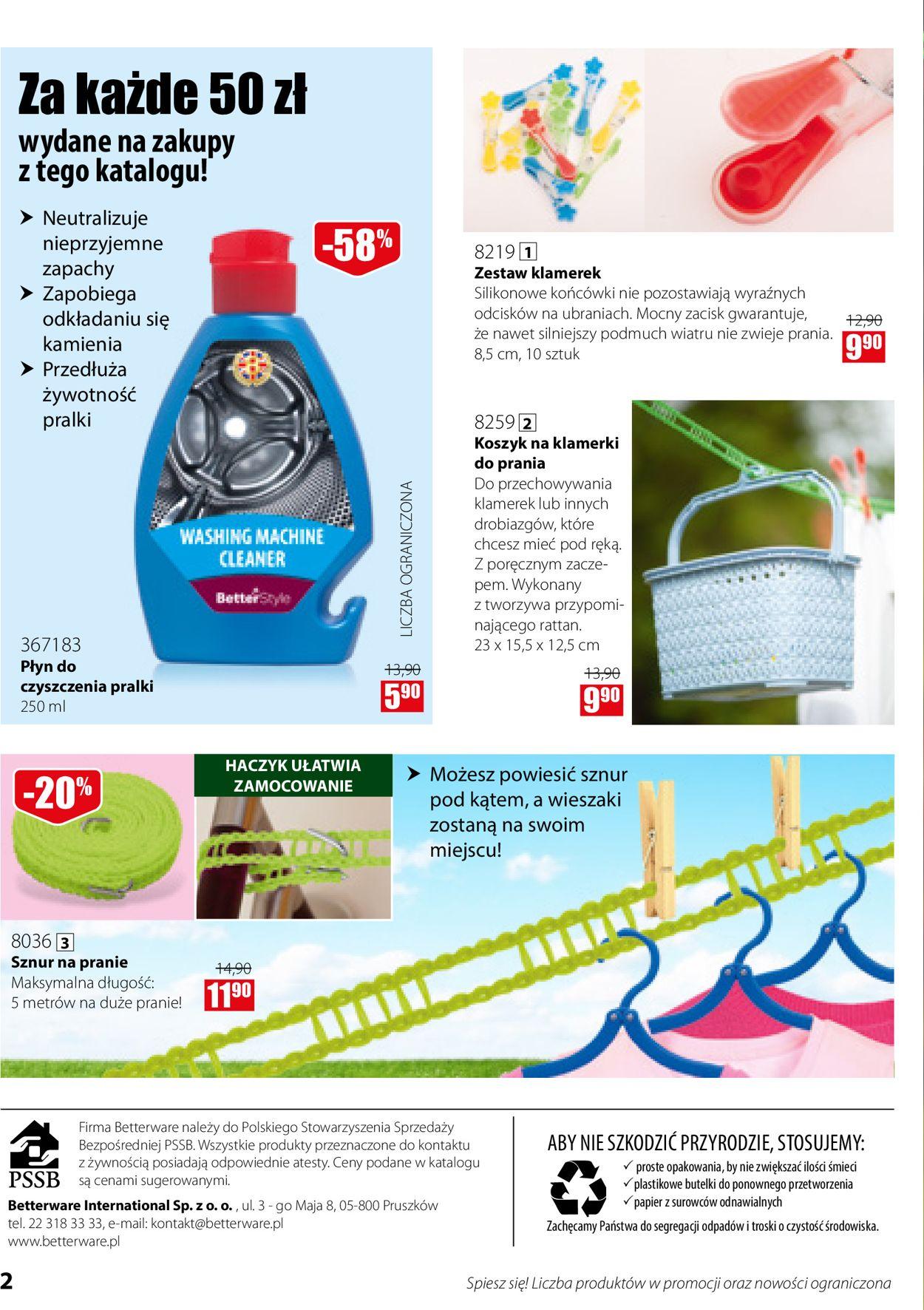 Gazetka promocyjna Betterware - 01.07-31.07.2020 (Strona 2)