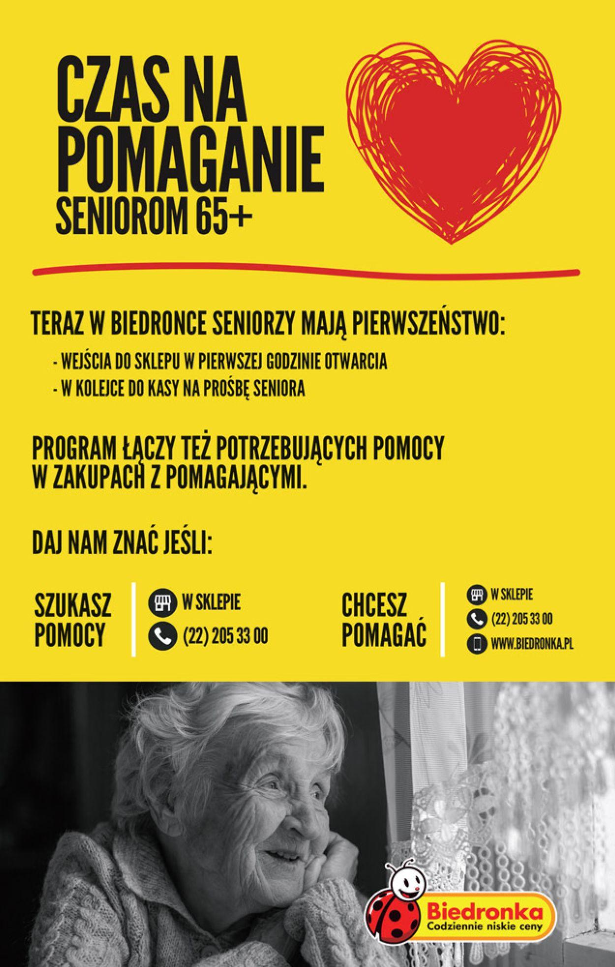 Gazetka promocyjna Biedronka - 26.03-01.04.2020 (Strona 64)