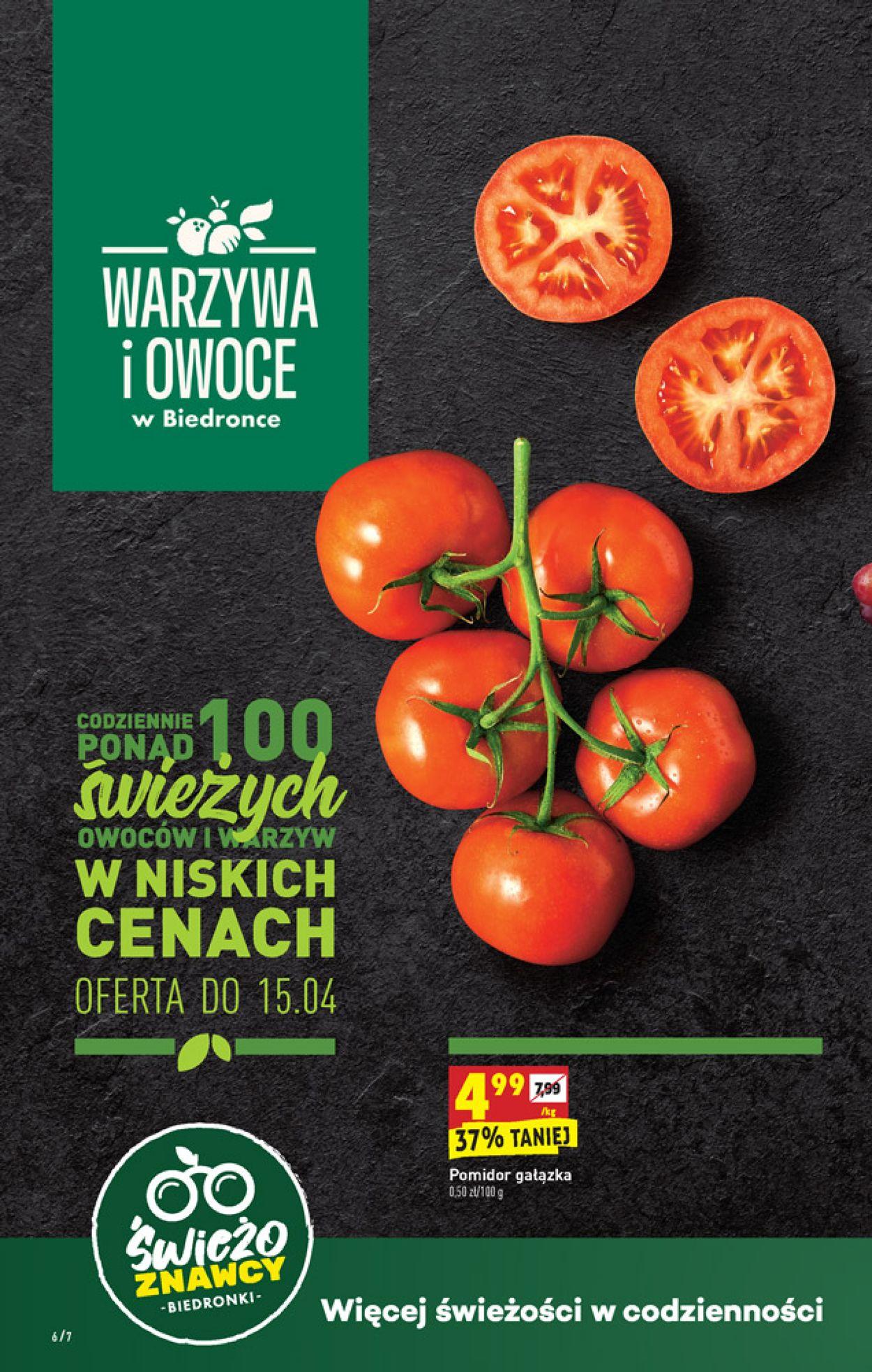 Gazetka promocyjna Biedronka - 14.04-18.04.2020 (Strona 6)