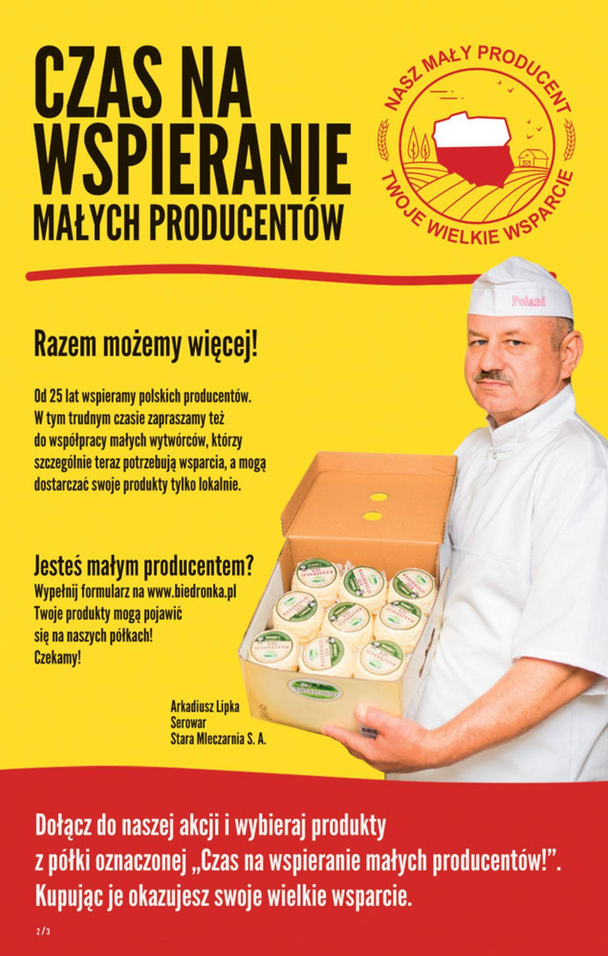 Gazetka promocyjna Biedronka - 16.04-22.04.2020 (Strona 2)