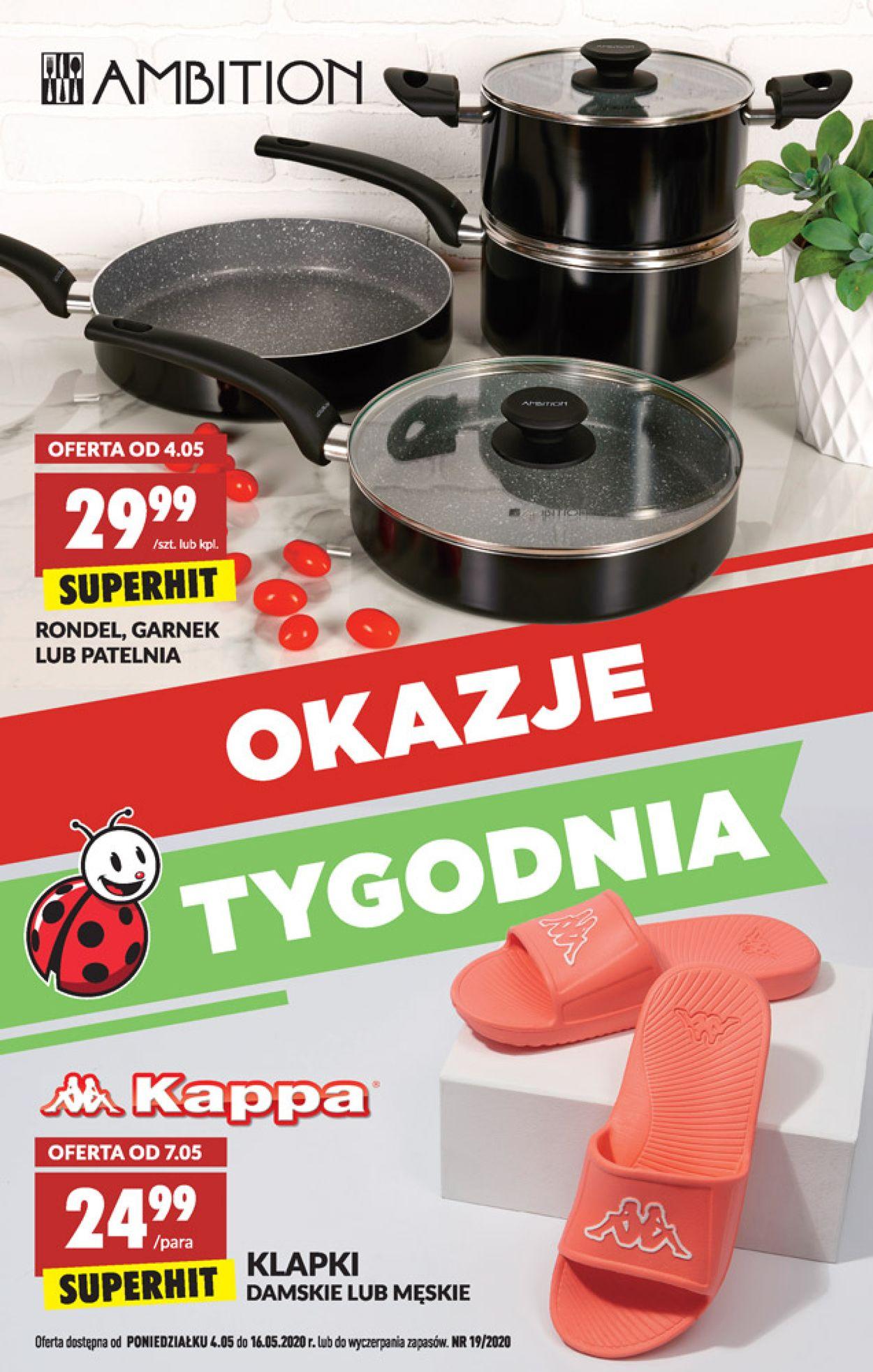 Gazetka promocyjna Biedronka - 04.05-16.05.2020