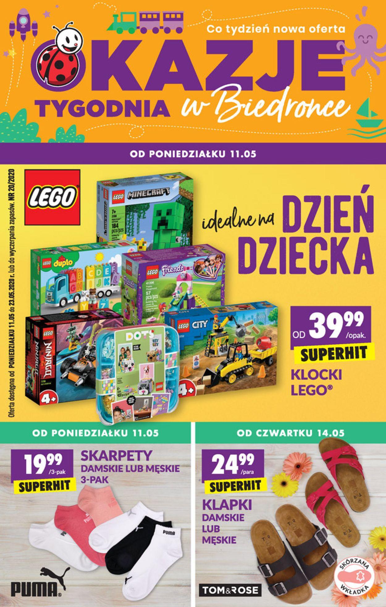 Gazetka promocyjna Biedronka - 11.05-23.05.2020