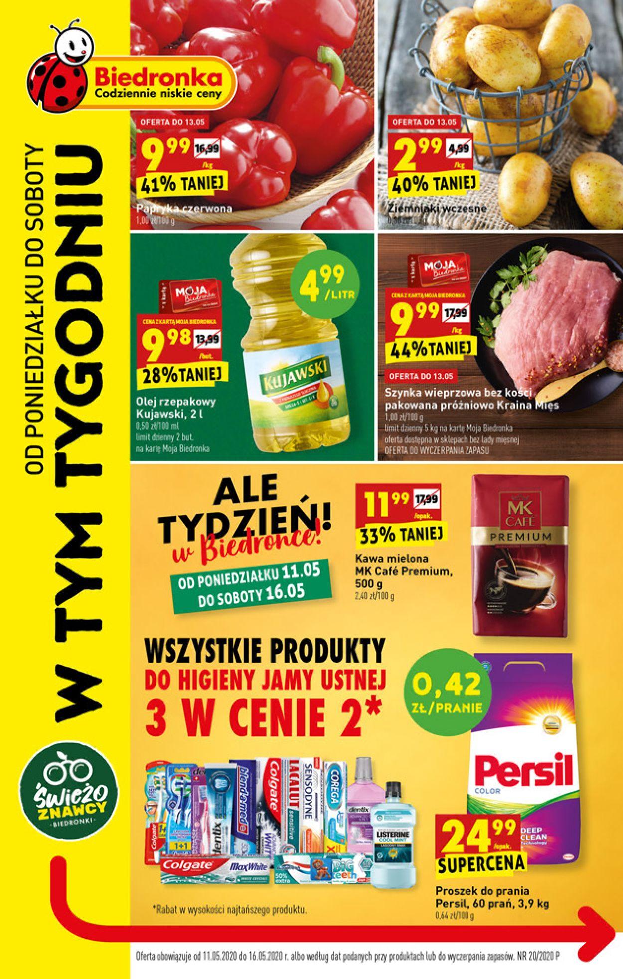 Gazetka promocyjna Biedronka - 11.05-16.05.2020