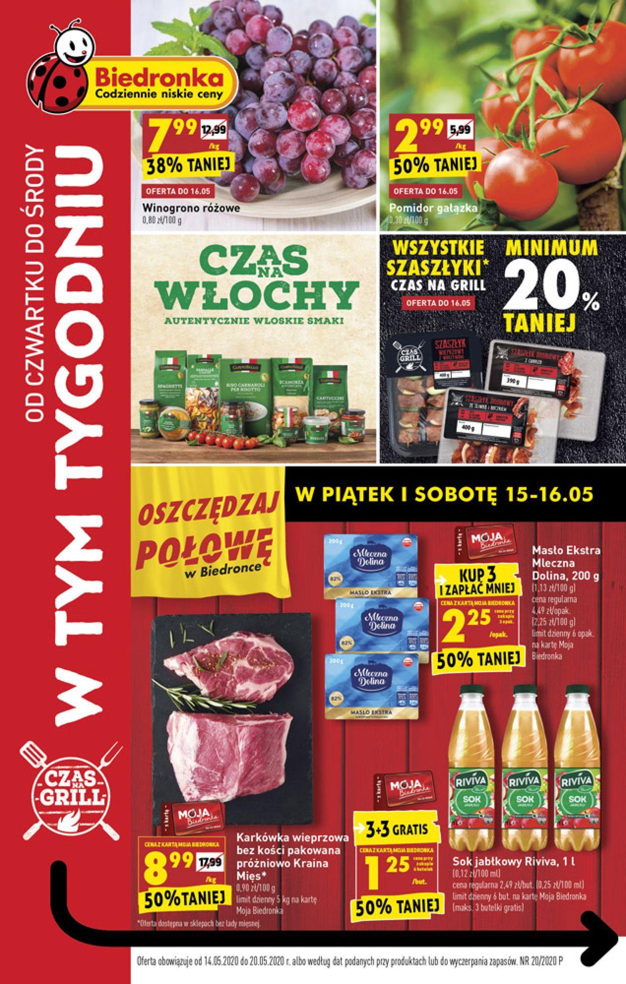 Gazetka promocyjna Biedronka - 14.05-20.05.2020