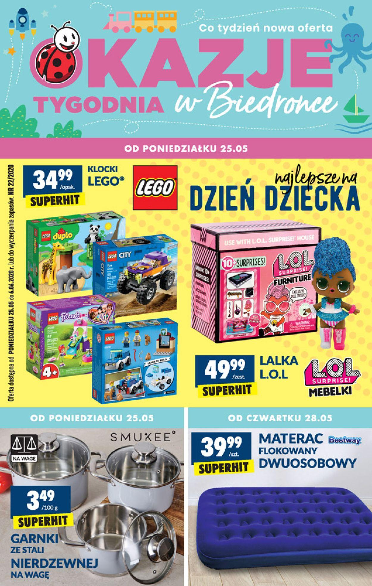 Gazetka promocyjna Biedronka - 25.05-31.05.2020