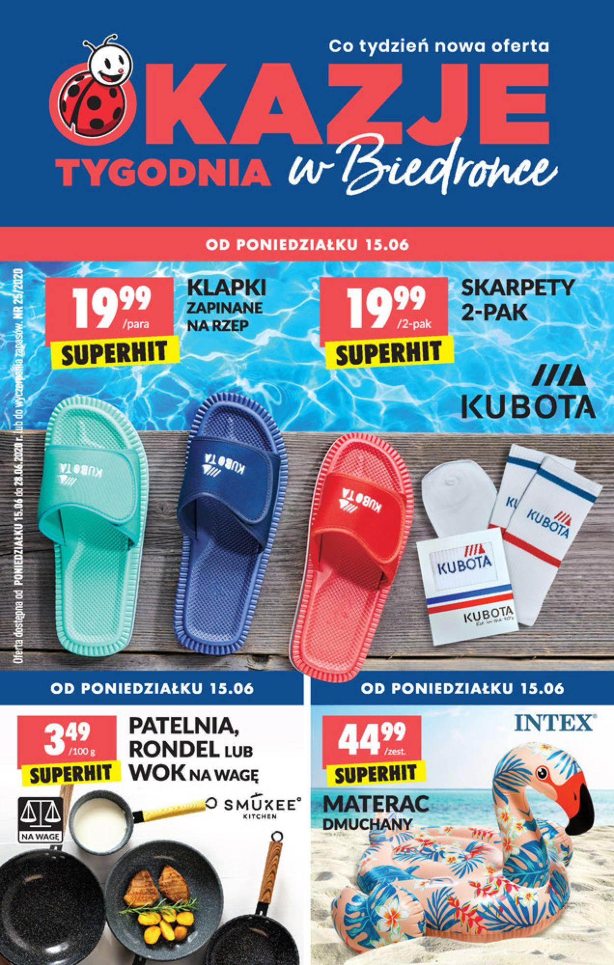 Gazetka promocyjna Biedronka - 15.06-20.06.2020