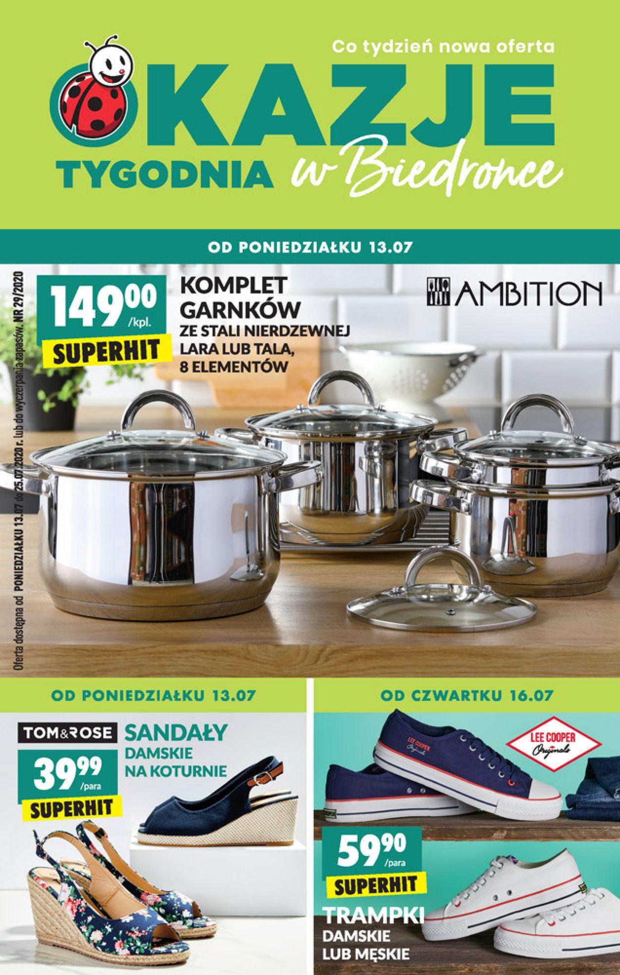 Gazetka promocyjna Biedronka - 13.07-19.07.2020