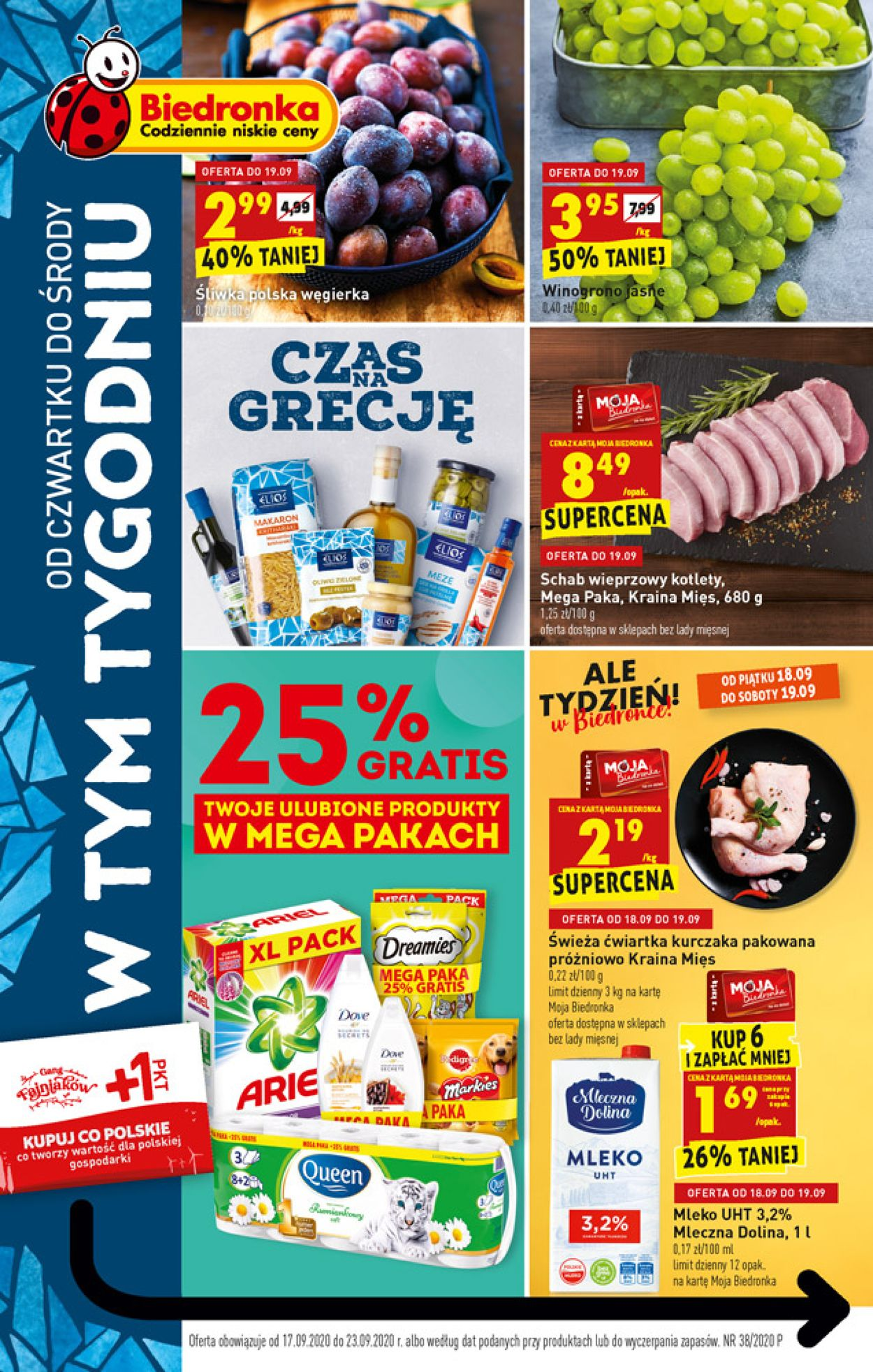 Gazetka promocyjna Biedronka - 17.09-23.09.2020