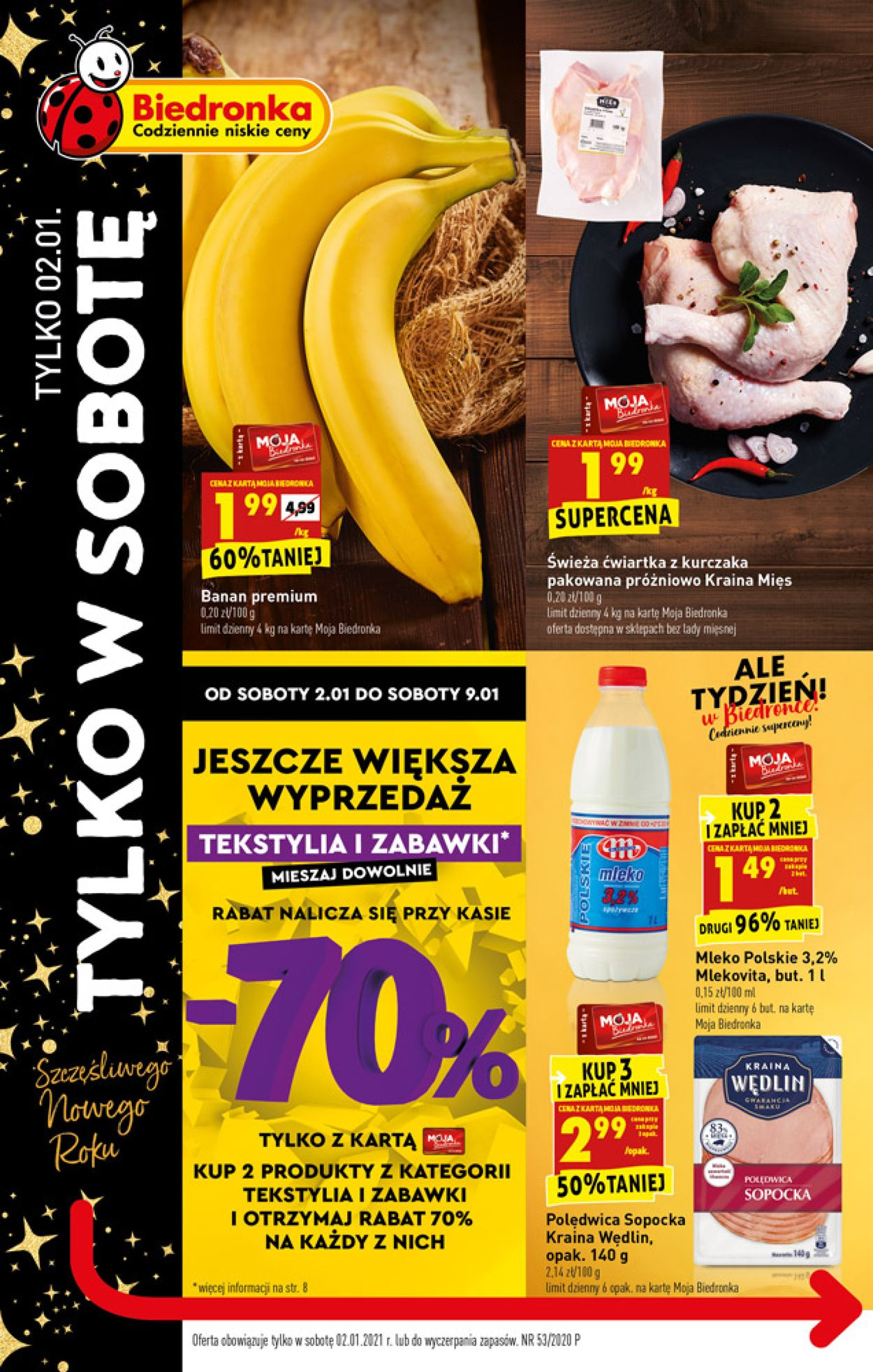Gazetka promocyjna Biedronka - 02.01-02.01.2021