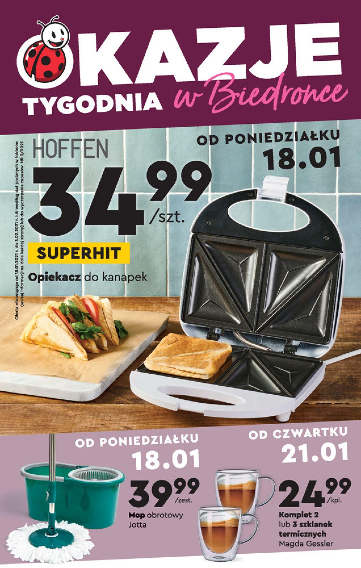 Gazetka promocyjna Biedronka - 18.01-03.02.2021