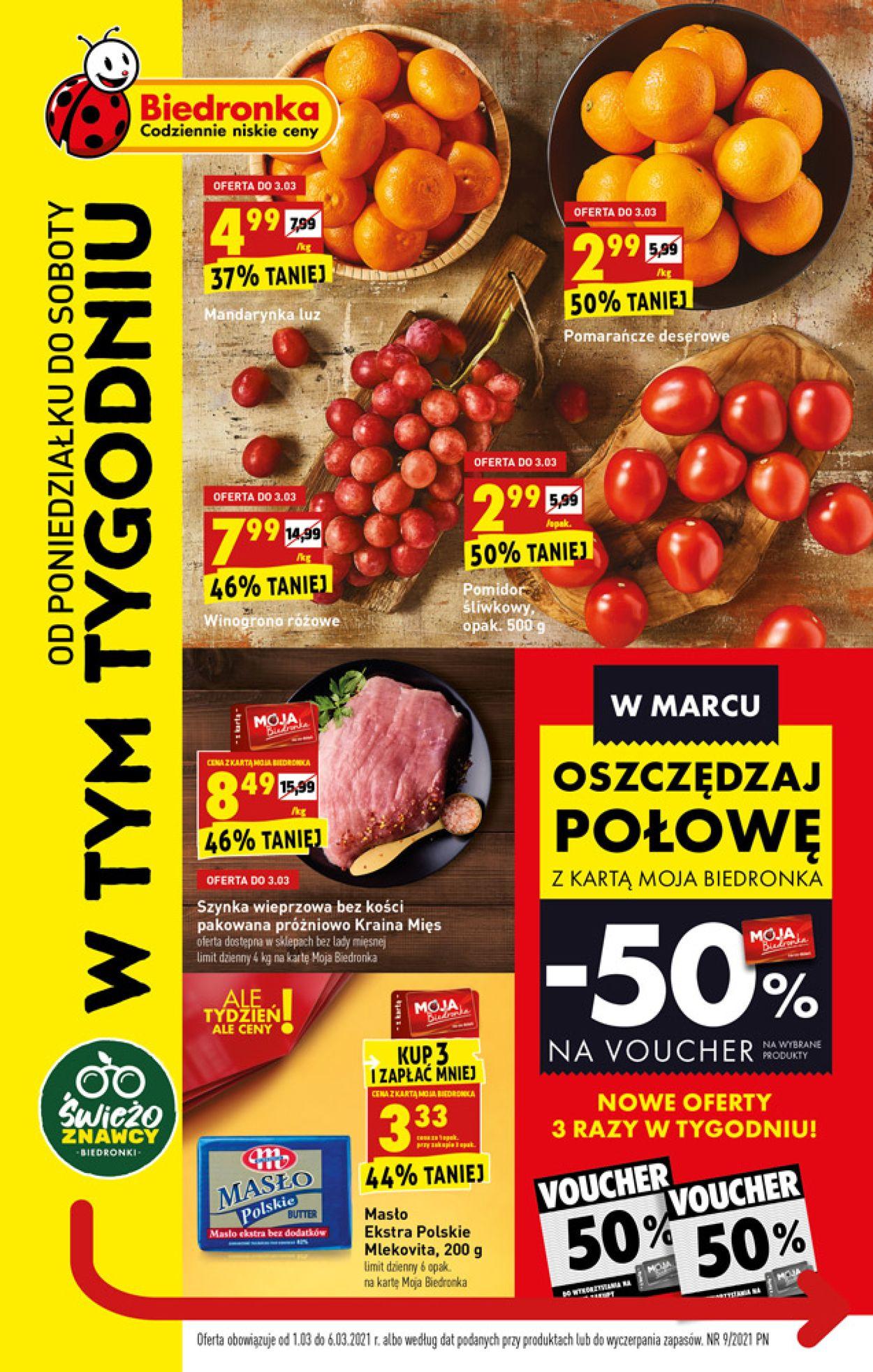 Gazetka promocyjna Biedronka - 01.03-06.03.2021