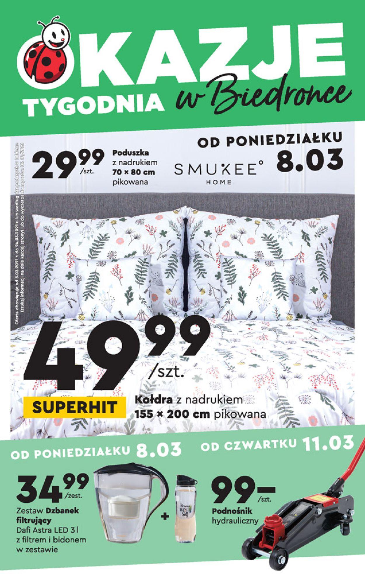 Gazetka promocyjna Biedronka - 08.03-24.03.2021