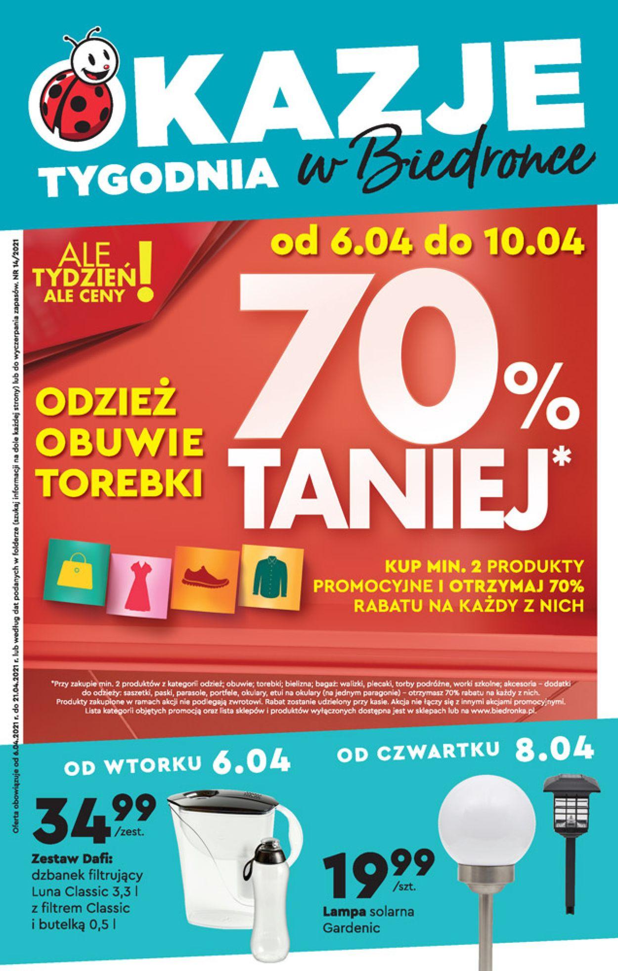 Gazetka promocyjna Biedronka - 06.04-10.04.2021