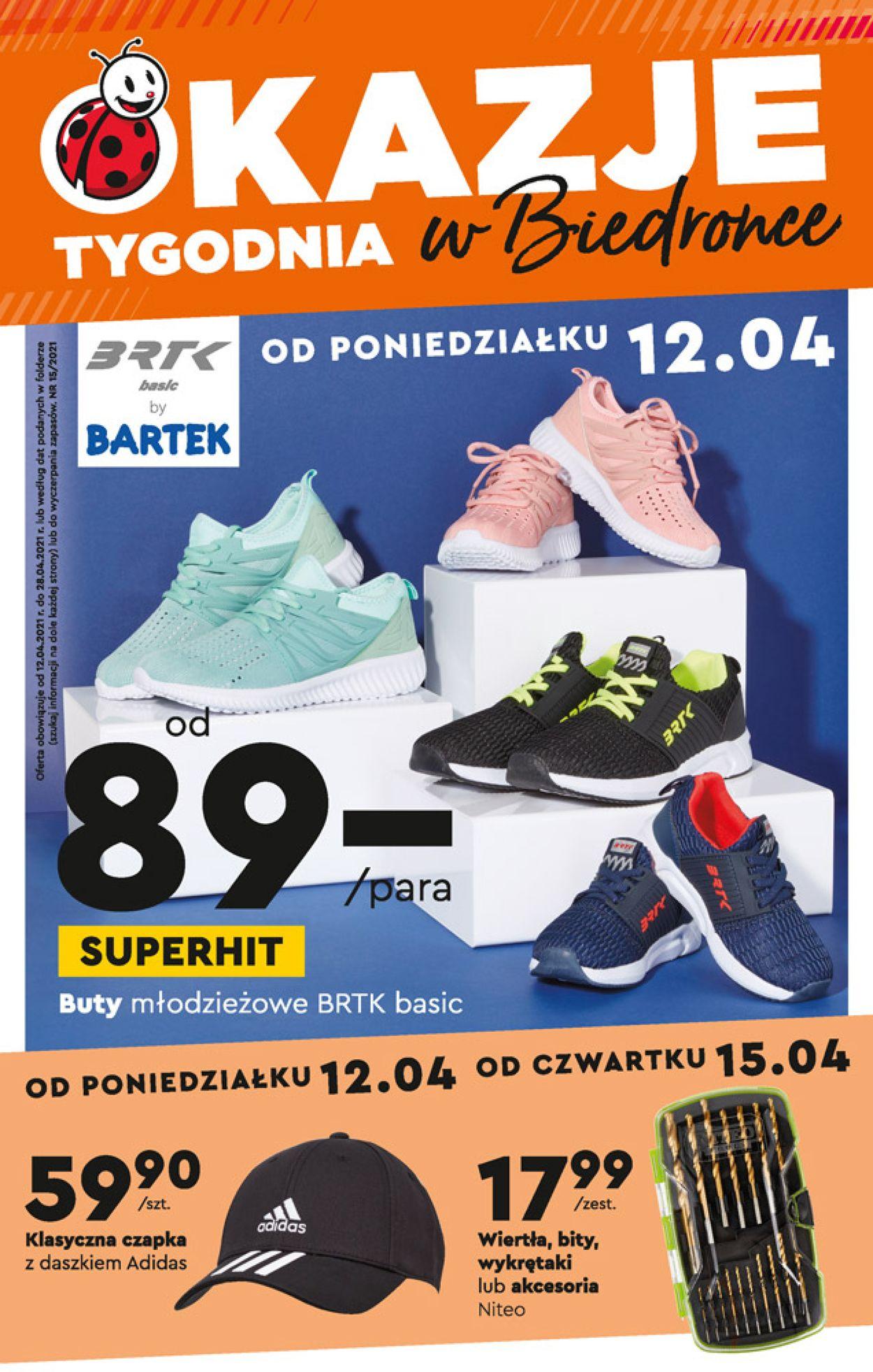 Gazetka promocyjna Biedronka - 12.04-28.04.2021