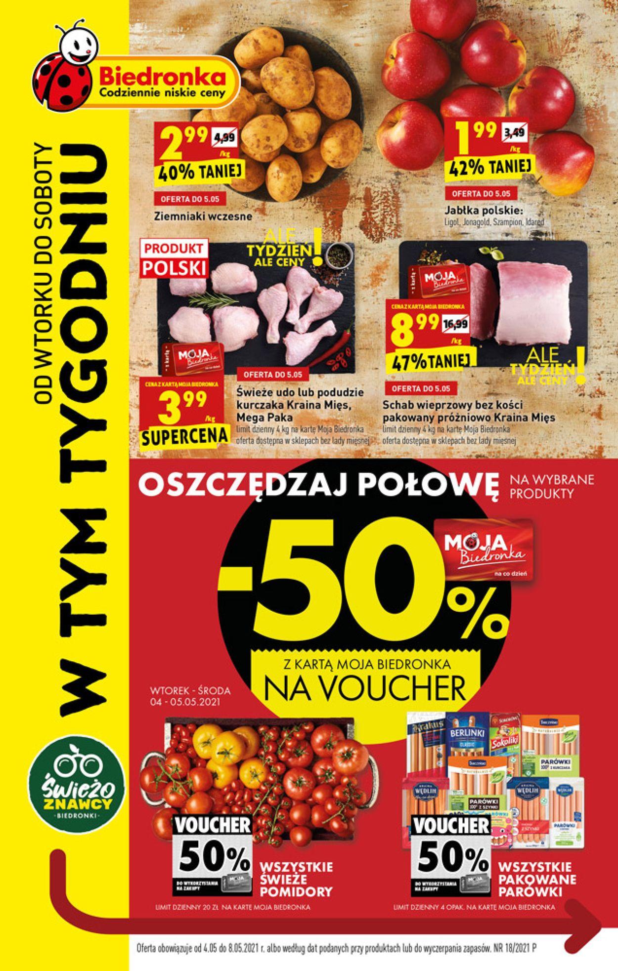 Gazetka promocyjna Biedronka - 04.05-08.05.2021