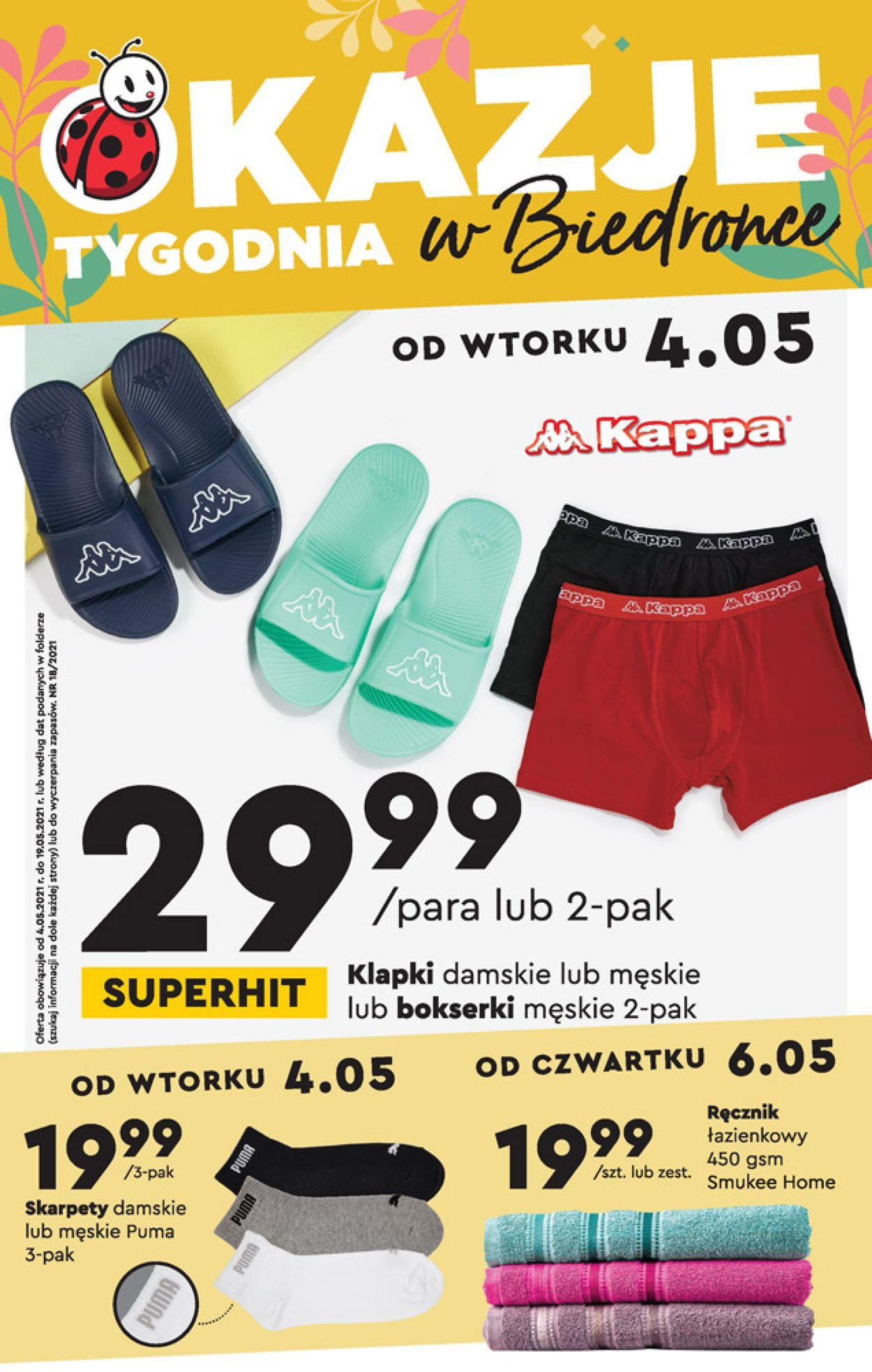 Gazetka promocyjna Biedronka - 04.05-19.05.2021
