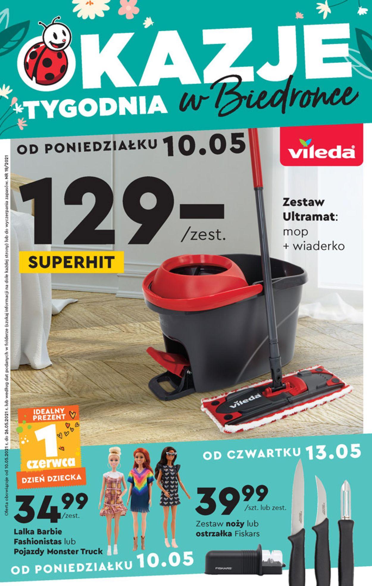 Gazetka promocyjna Biedronka - 10.05-26.05.2021