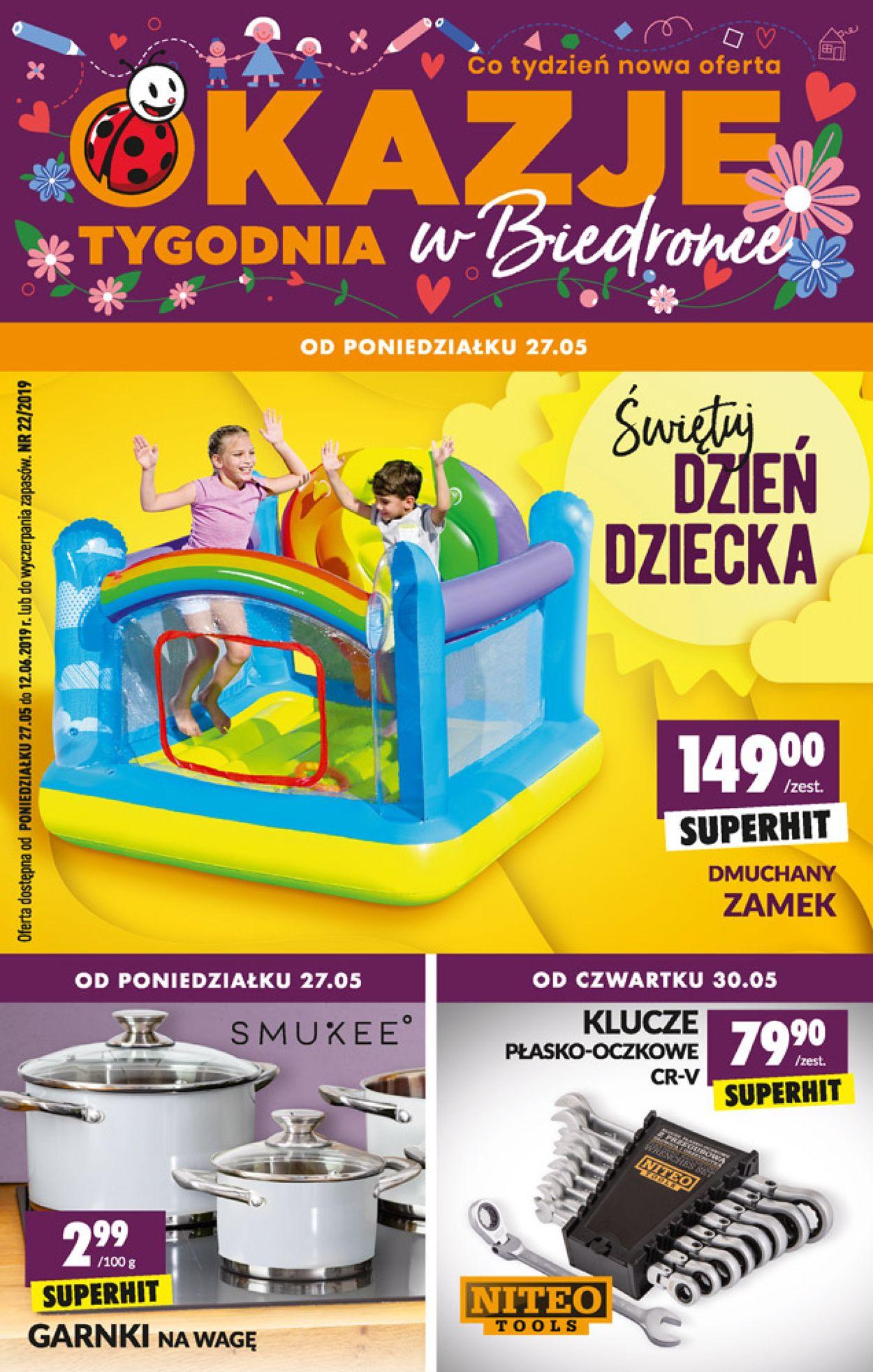 Gazetka promocyjna Biedronka - 27.05-12.06.2019