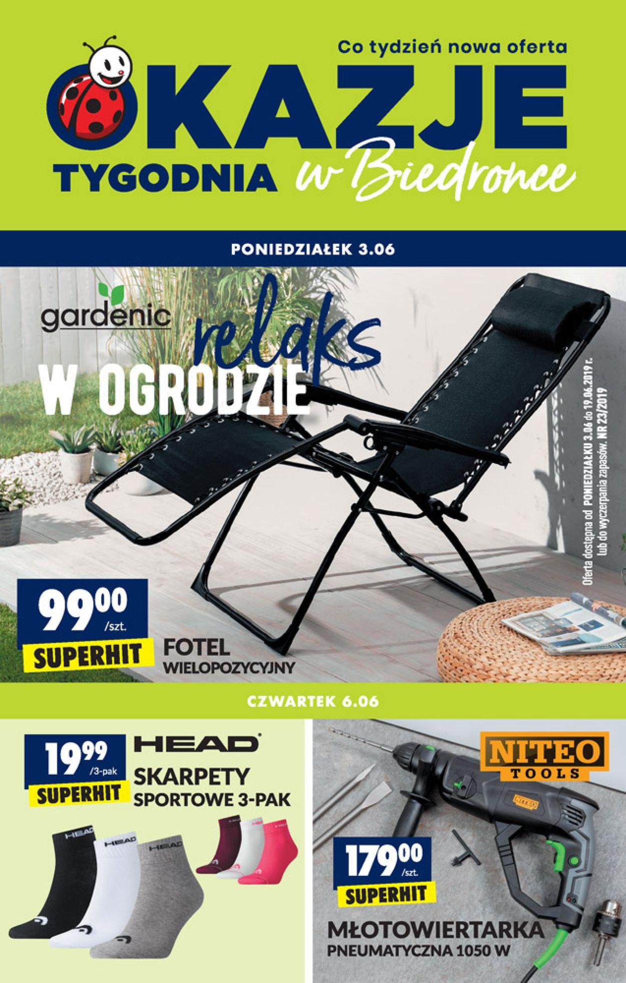 Gazetka promocyjna Biedronka - 03.06-19.06.2019