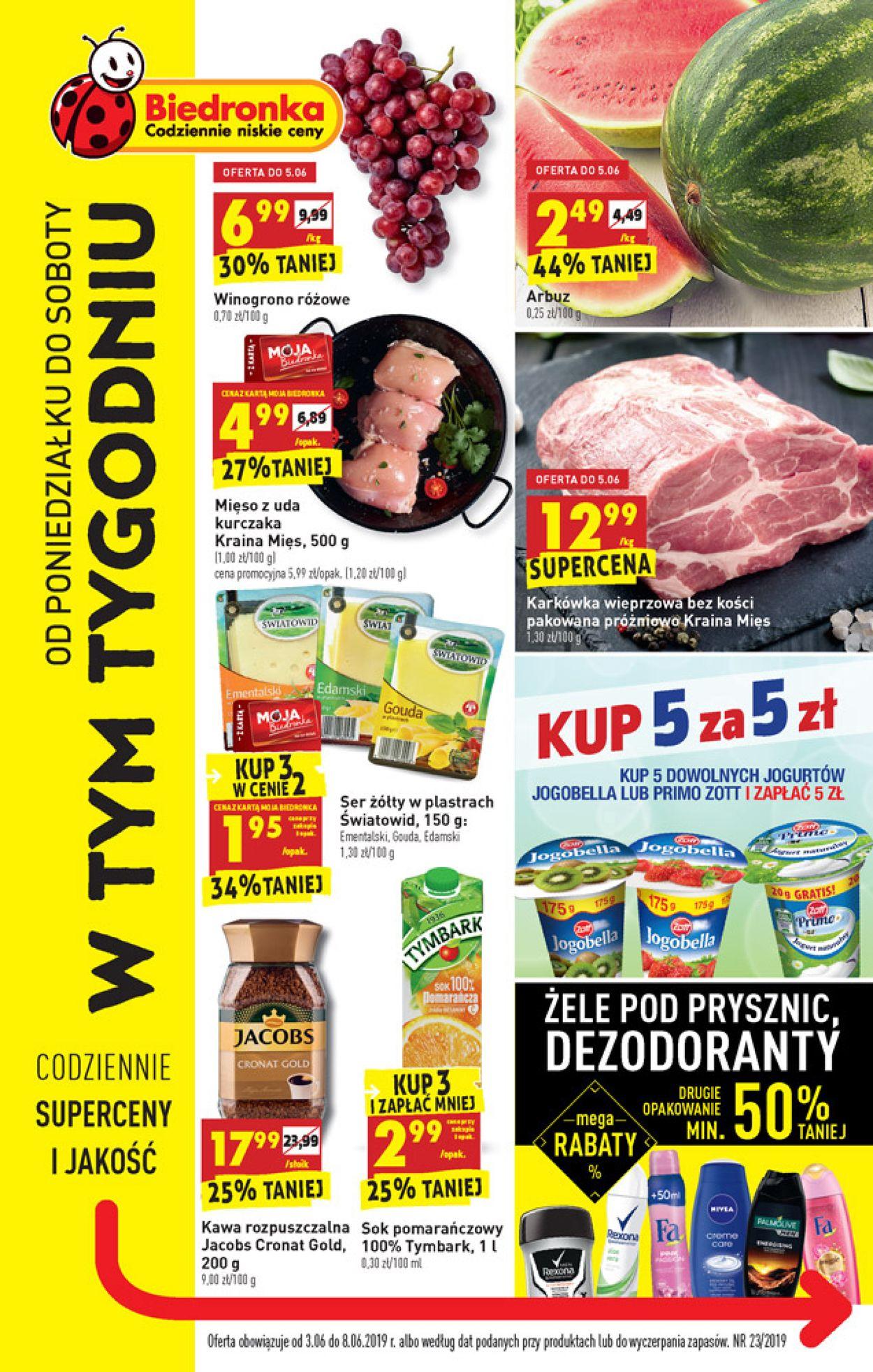 Gazetka promocyjna Biedronka - 03.06-08.06.2019