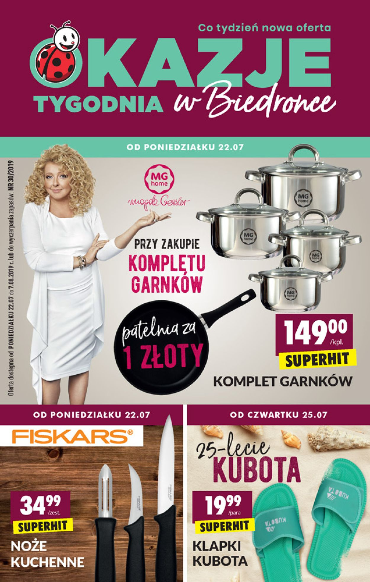 Gazetka promocyjna Biedronka - 22.07-07.08.2019