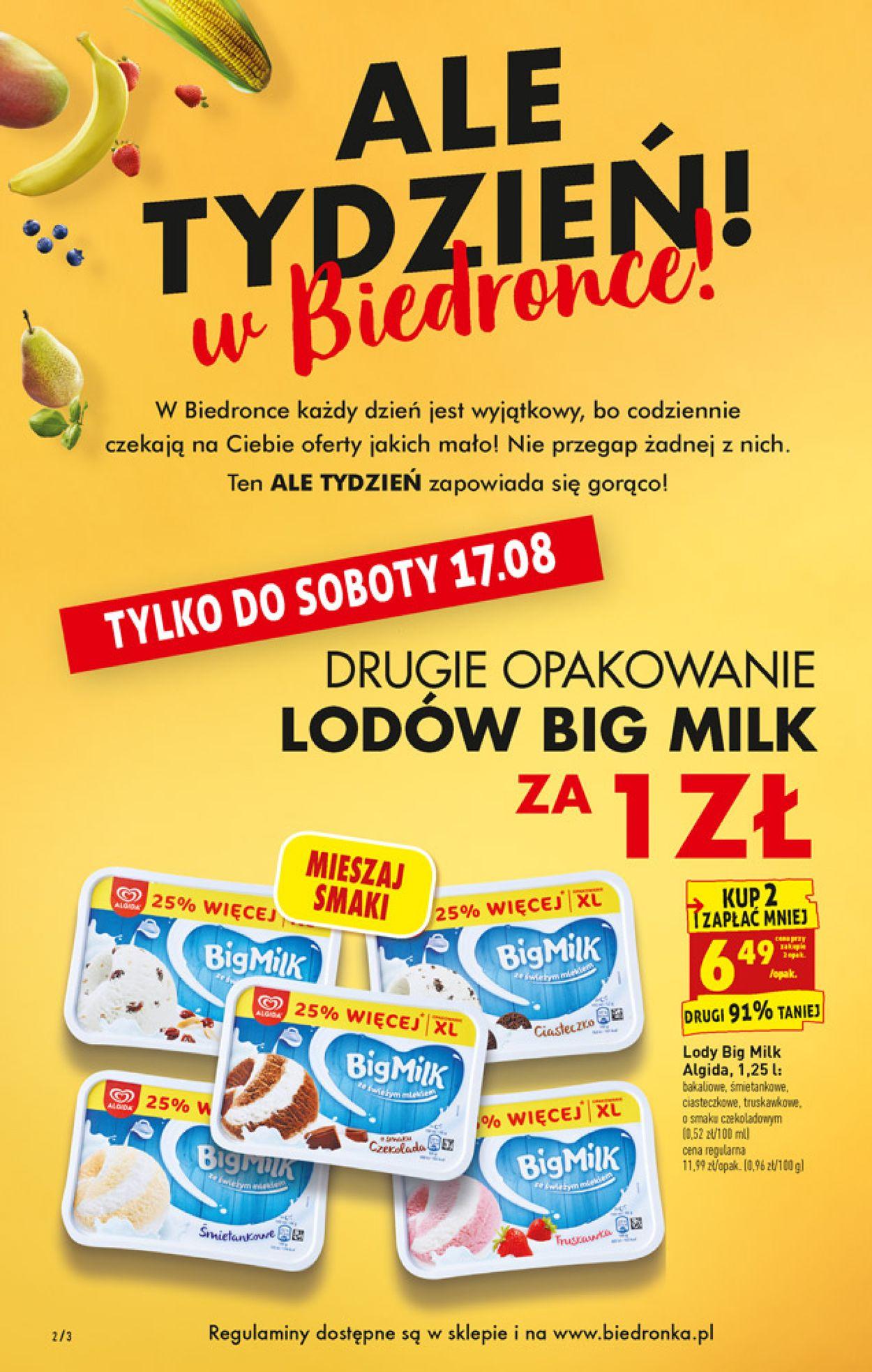 Gazetka promocyjna Biedronka - 16.08-21.08.2019 (Strona 2)