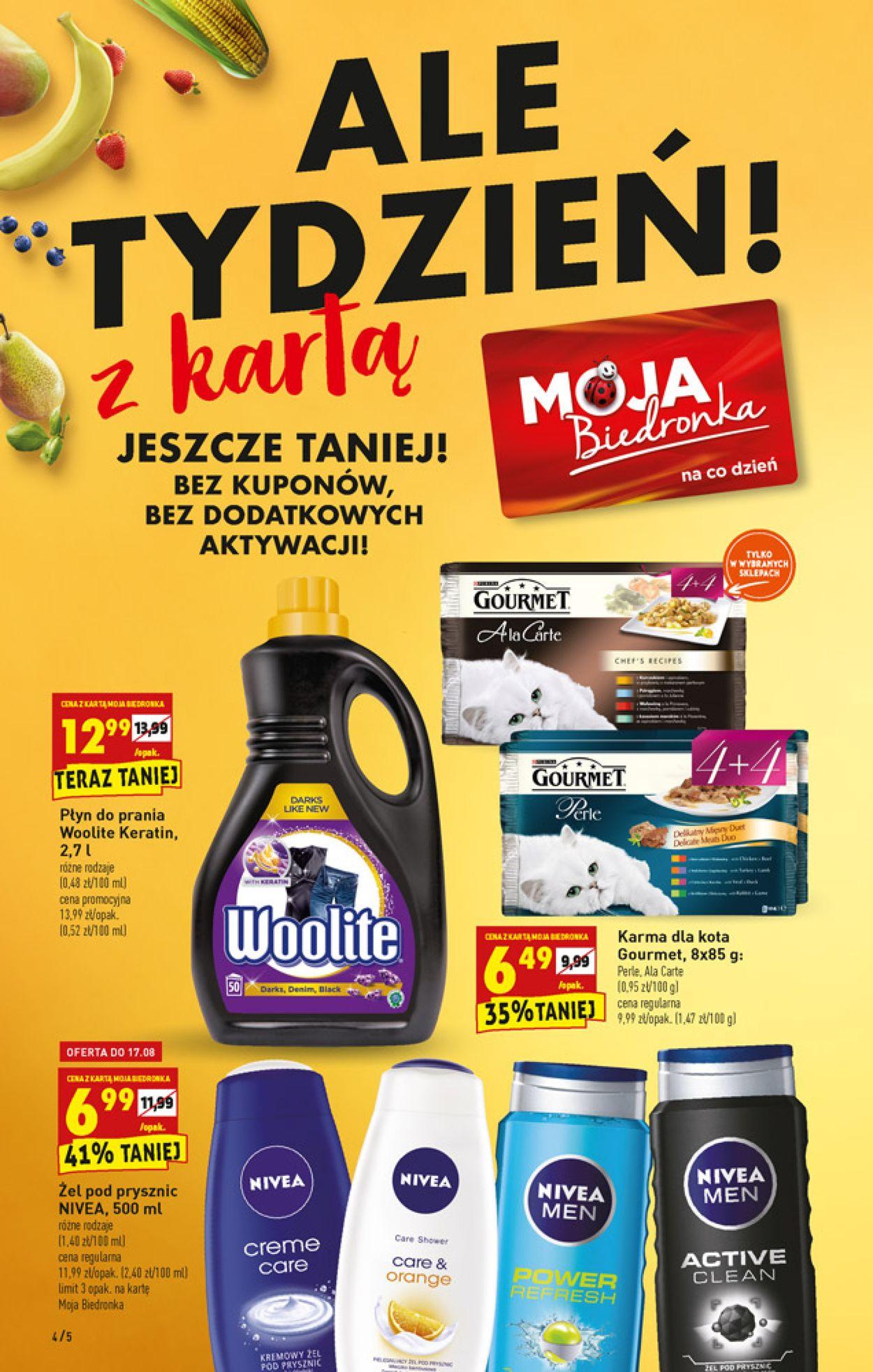 Gazetka promocyjna Biedronka - 16.08-21.08.2019 (Strona 4)