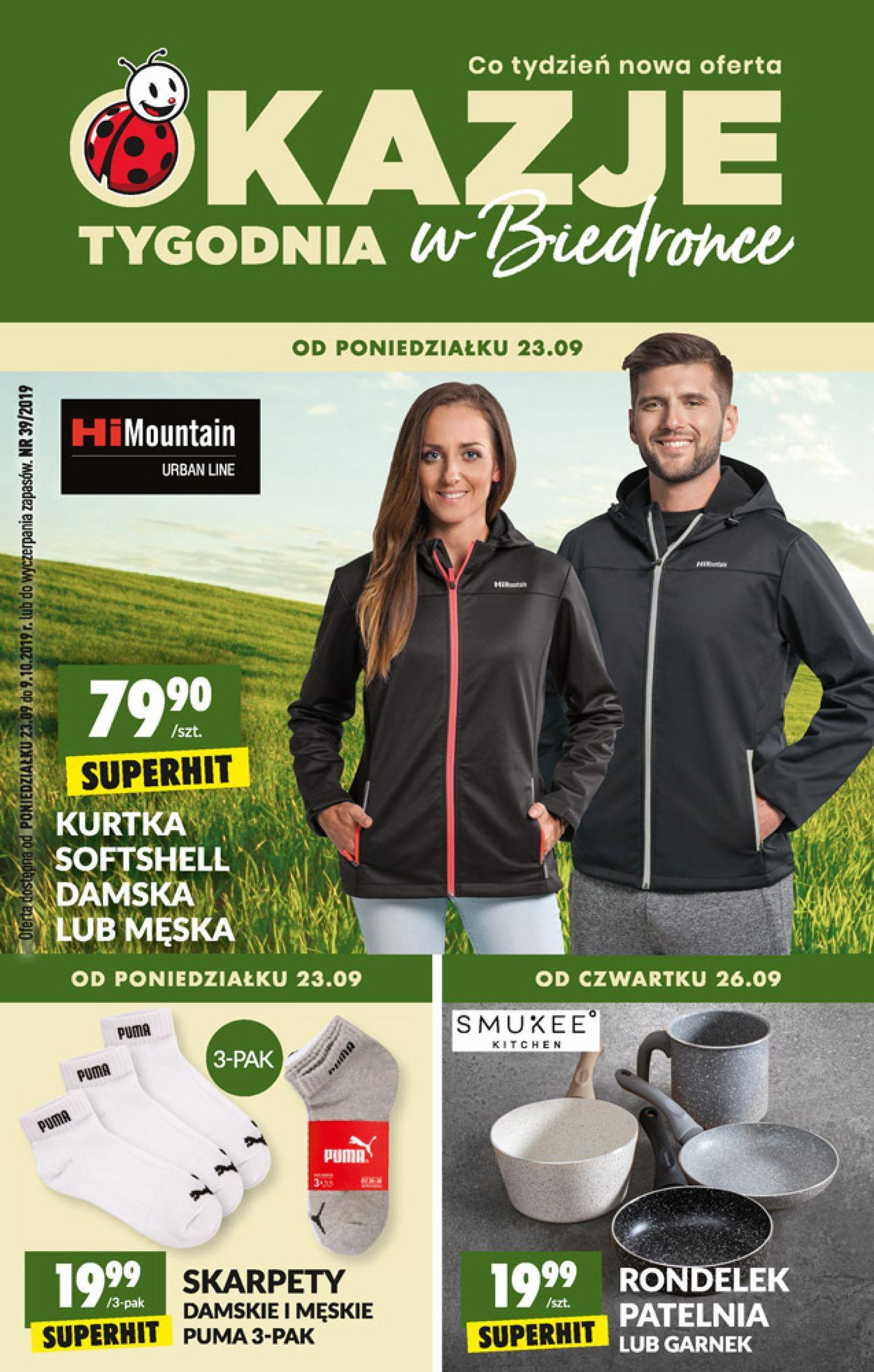 Gazetka promocyjna Biedronka - 23.09-09.10.2019