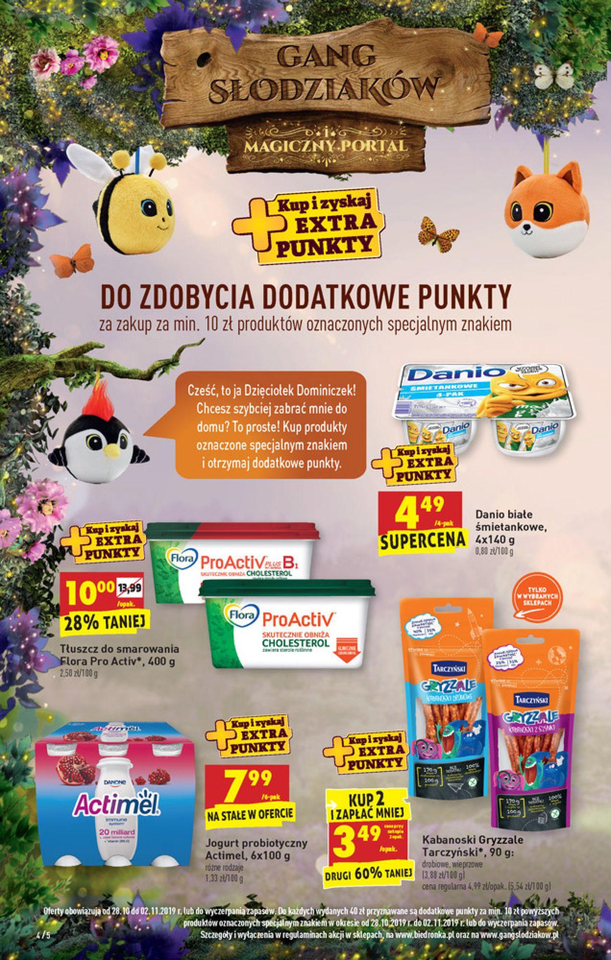 Gazetka promocyjna Biedronka - 28.10-02.11.2019 (Strona 4)