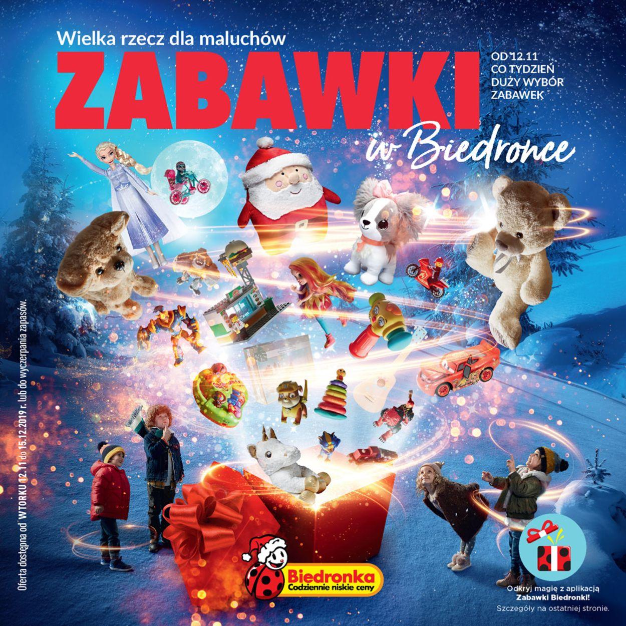 Gazetka promocyjna Biedronka - 12.11-15.12.2019