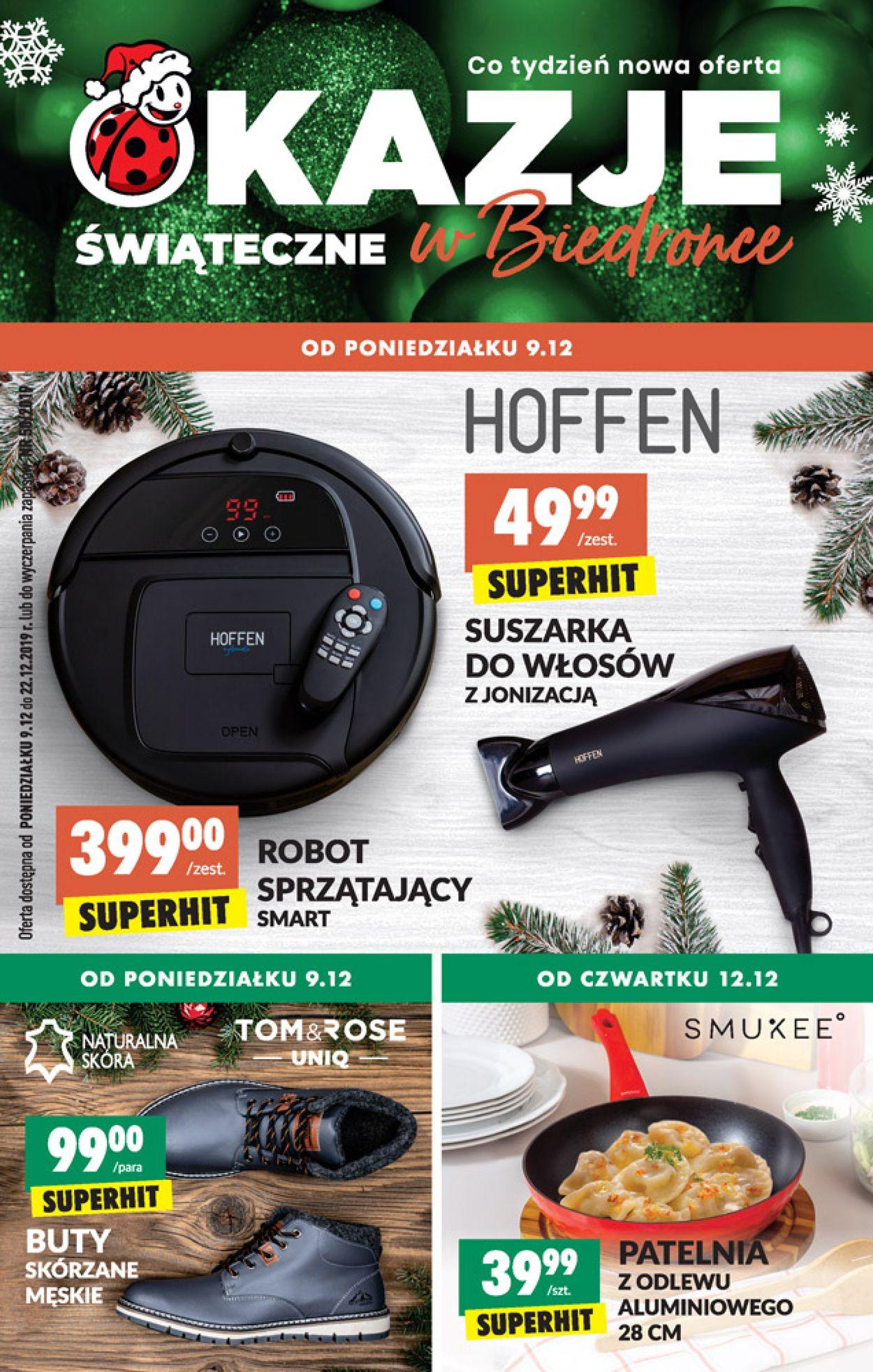 Gazetka promocyjna Biedronka - 09.12-22.12.2019