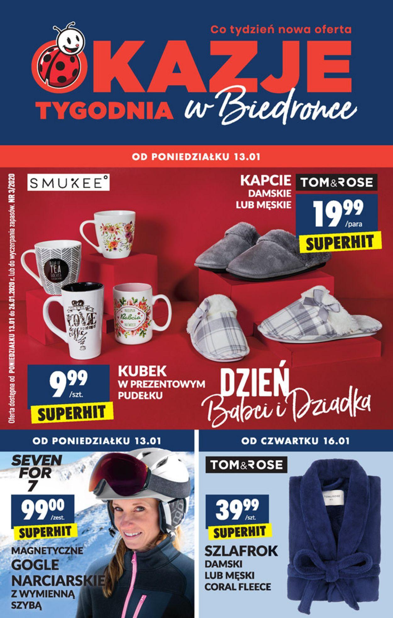 Gazetka promocyjna Biedronka - 13.01-26.01.2020