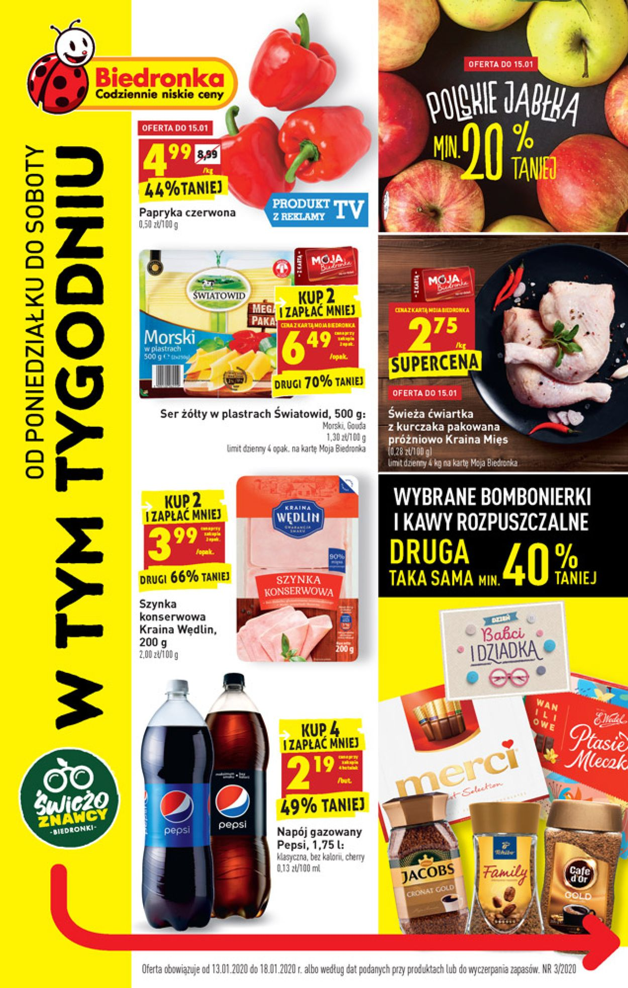 Gazetka promocyjna Biedronka - 13.01-18.01.2020