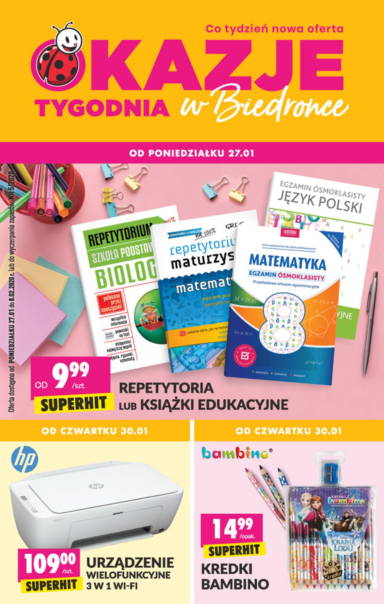 Gazetka promocyjna Biedronka - 27.01-08.02.2020